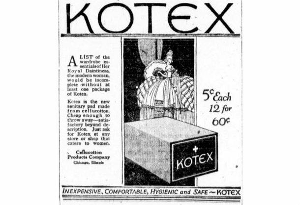 Os absorventes que hoje sao usados pelo publico feminino teve a sua invenção em 1914 em plena primeira guerra mundial, com o objetivo de estancar o sangue de grandes ferimentos dos soldados.