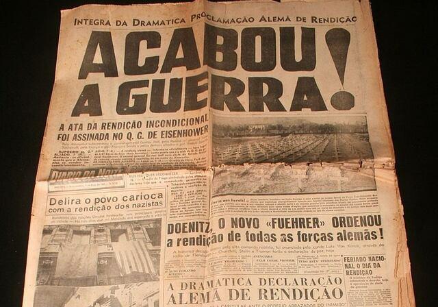 Maio de 1945 fim da guerra