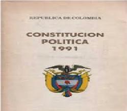 Constitución política en su artículo 2°