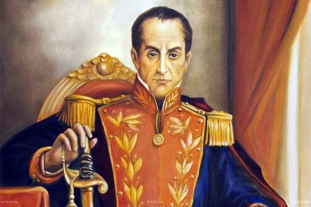 DICTADURA SIMÓN BOLÍVAR.(1828-1830).