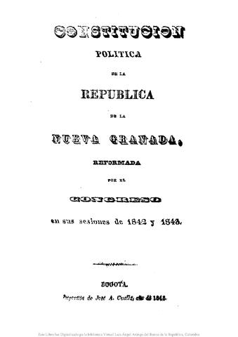 LA CONSTITUCIÓN MAS CENTRALISTA (1843)