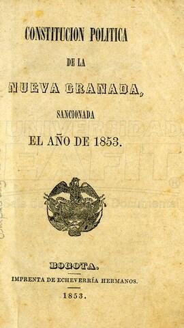 CONSTITUCIÓN CENTRO-FEDERAL DE 1853