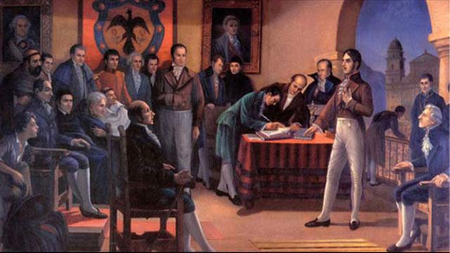 CUARTA GUERRA CIVIL COLOMBIANA (1854)