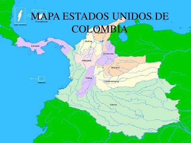 ESTADOS UNIDOS DE COLOMBIA.1863