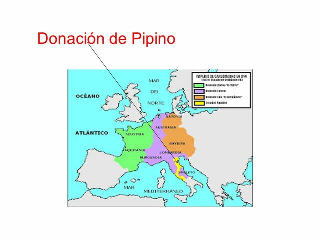 Donación de Pipino