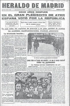 Se comienza a publicar El Heraldo de Madrid