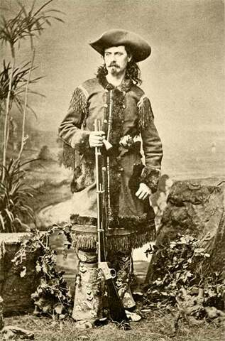 Llegada a Barcelona del circo de Buffalo Bill