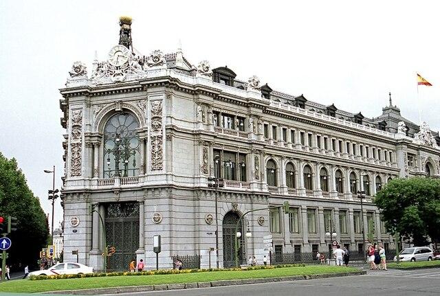 Inauguración del edificio del Banco de España