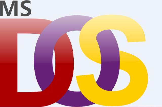 Sale al mercado el sistema operativo MS-DOS