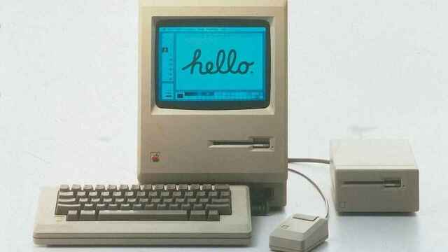Presentación de Macintosh 128K