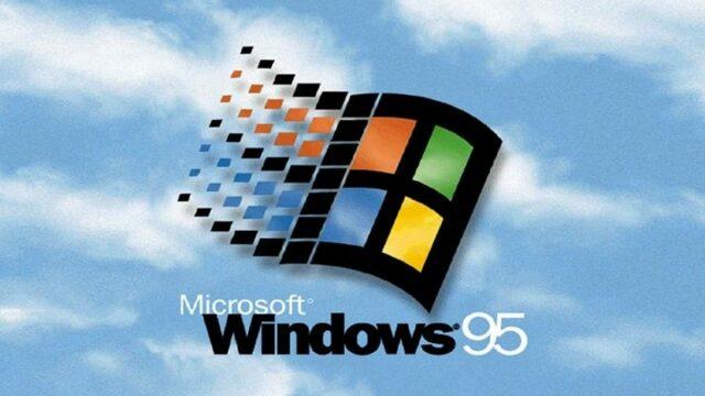 Sale al mercado Windows 95