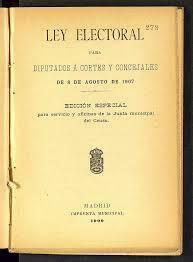 Leyes de Administración Local y Electoral
