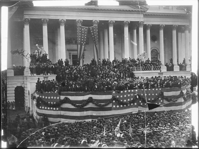 Ulysses S. Grant inaugurated as president