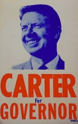 Carter runs for Governor again!