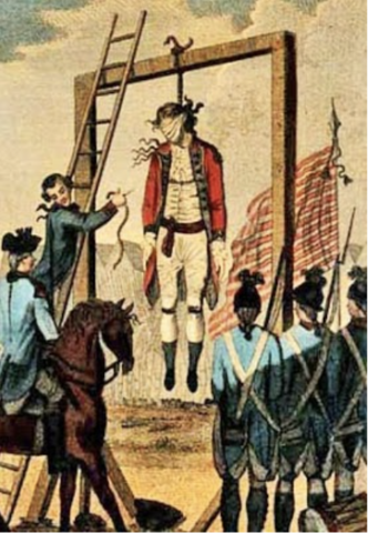 The Execution of Major John Andre