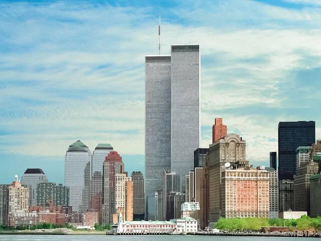 World Trade Center por Minoru Yamasaki.