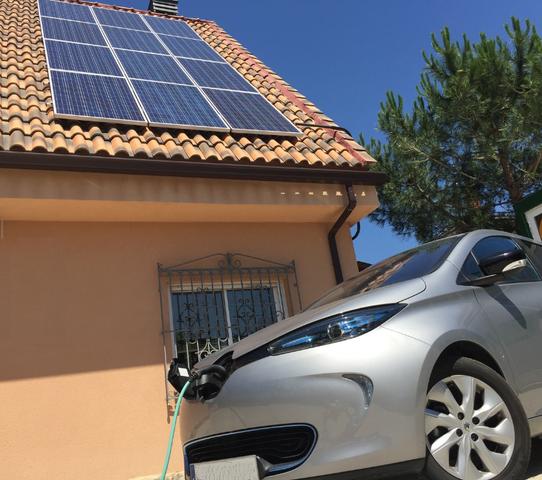 Invención de plantas solares y vehículos eléctricos.