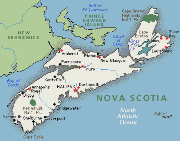 6,000 Acadians are expelled from Nova Scotia