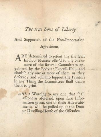 Nonimportation Agreements