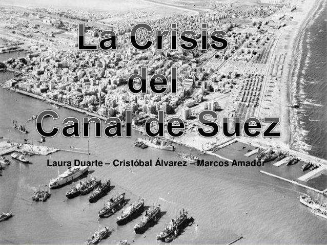 CRISIS DE SUEZ