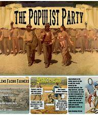 Populist party was created