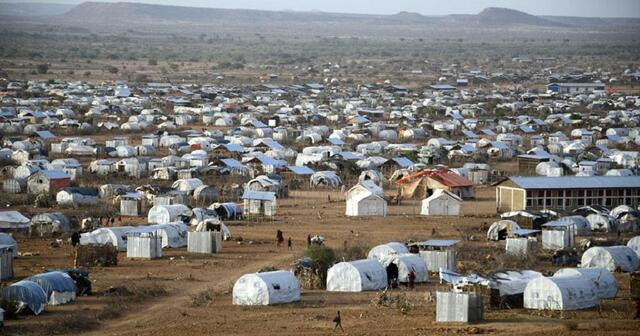 Salva finally is at the refugee camp
