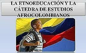 Decreto 112. Estudios Afrocolombianos