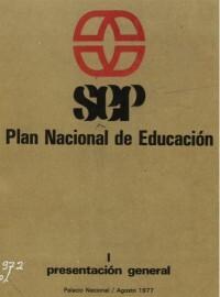 El Plan Nacional de Educación de 1977