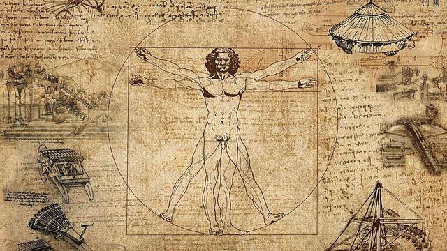 Obra: L'home de Vitruvi