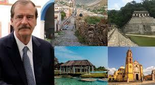 Programa Nacional de Turismo de Vicente Fox.