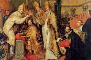 Carlos V es proclamado emperador