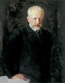 Piotr Ilich Chaikovski.