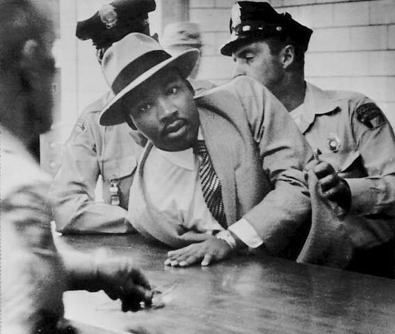 MLK jailed