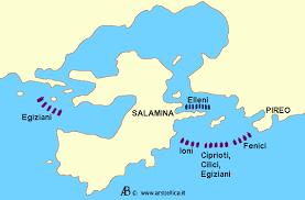 attacco nello stretto di Salamina