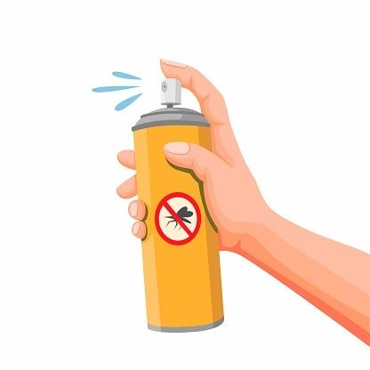 Repelente aerosol