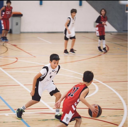 Començament de basquet