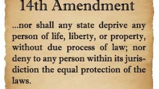 Equal Protection—The 14th Amendment
