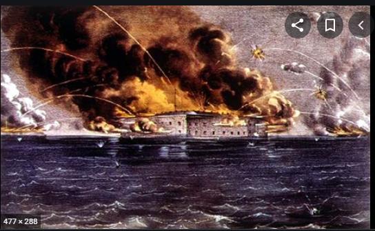 Battle of Fort Sumter: April 12, 1861- April 13, 1863