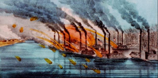 Battle of Fort Henry February 6 1862