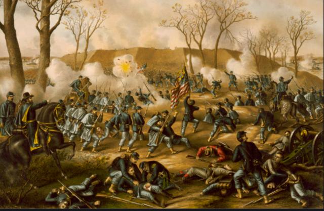 Battle of Fort Donelson February 11, 1862 – February 16, 1862