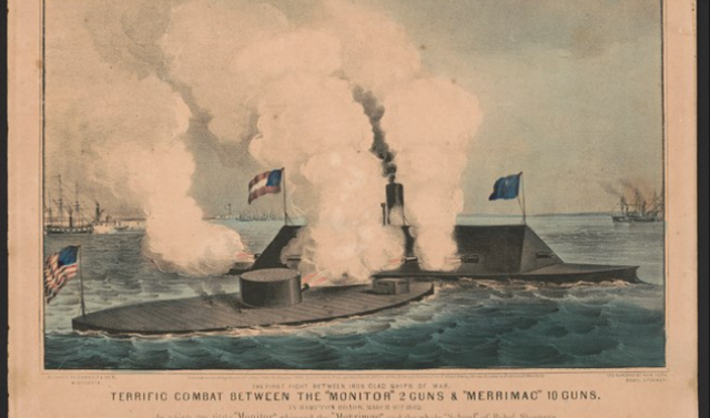 Battle of the Ironclads March 8 - March 9, 1862