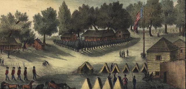 Battle of Fort Brooke October 16 - October 18 1863