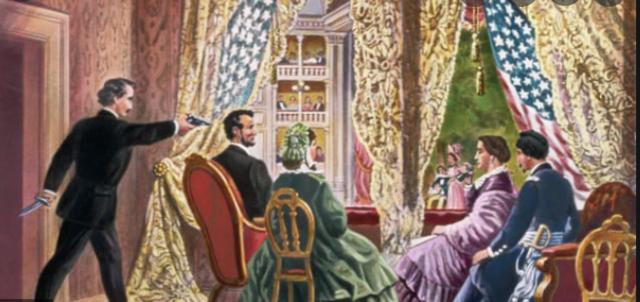 Lincoln assassination April 15 - April 16 1865