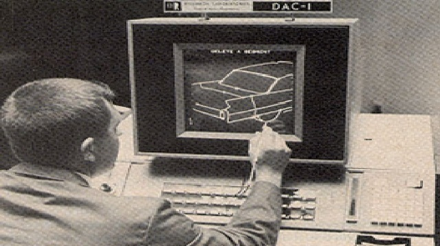 Primer sistema de dibujo por computadora