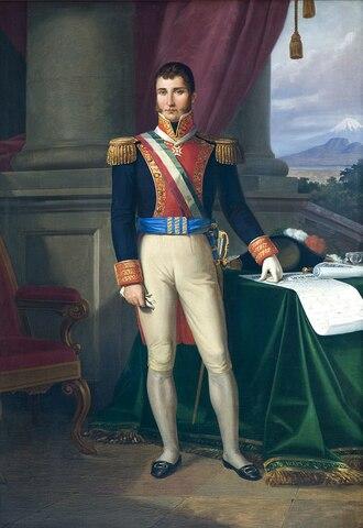 Plan de independencia por Agustín de Iturbide