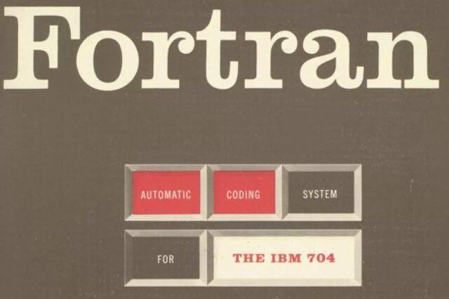 впервые реализован язык программирования высокого уровня, носивший название Фортран.