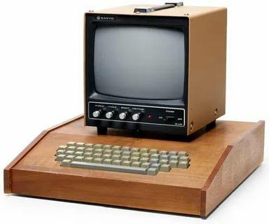 В 1976 году начался кустарный выпуск Apple I — компьютера, который послужил предтечей развития одного из современных производителей персональных компьютеров, Apple Computer.