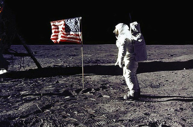 Man Lands on the Moon