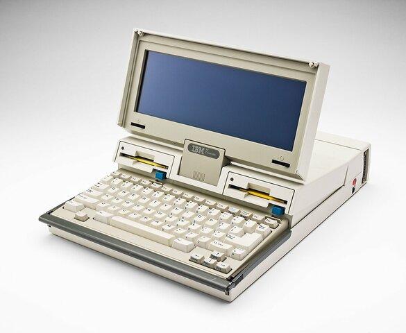 3 апреля 1986 года — первый ноутбук IBM PC Convertible от фирмы IBM.