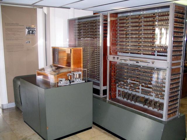 Введение в эксплуатацию первого компьютера на электромеханических элементах